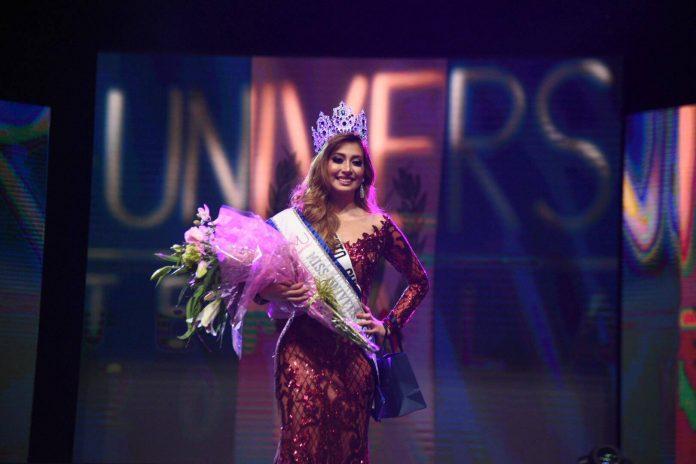 Mariana García crowned Miss Universe Guatemala 2018