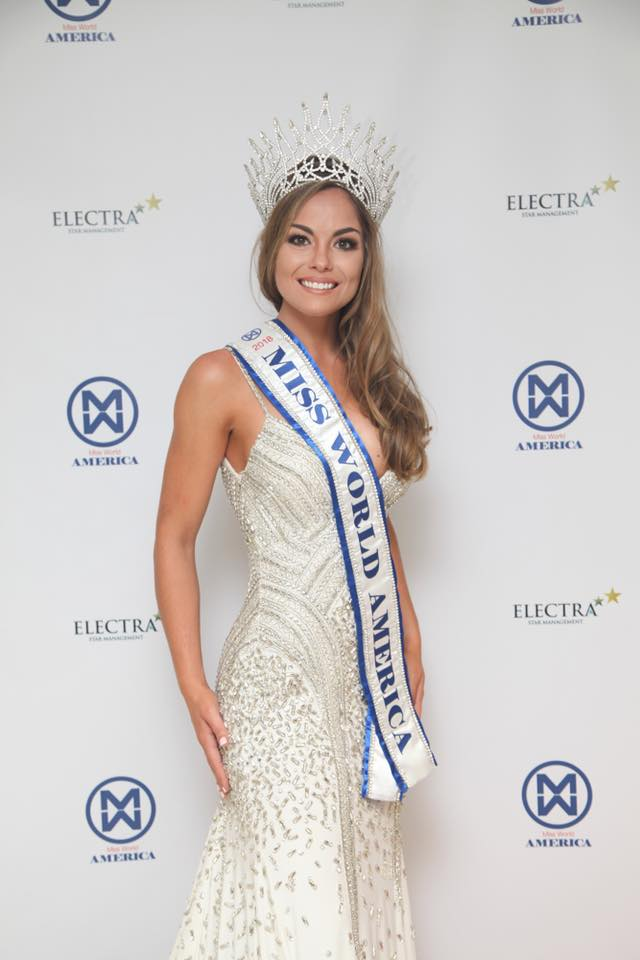 Marisa Paige Butler crowned as Miss World America 2018