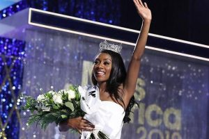 Nia Imani from New York wins Miss America 2019