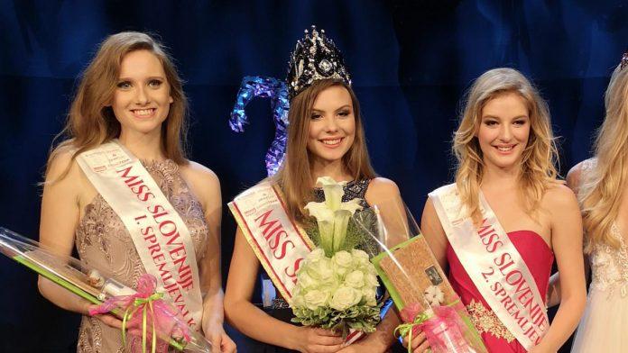 Lara Kalanj crowned as Miss Slovenije 2018