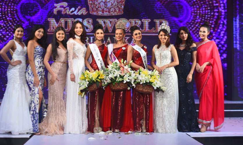 Nadia Gyi crowned as Miss World Sri Lanka 2018