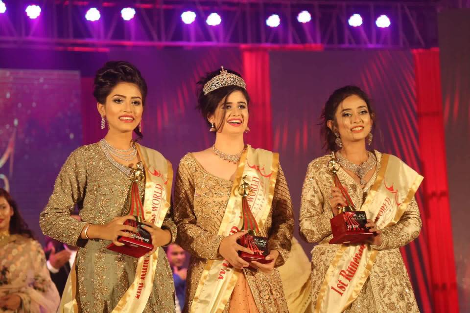 Jannatul Ferdous Oishee crowned as Miss World Bangladesh 2018