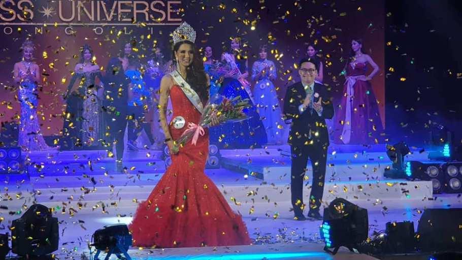 Dolgion Delgerjav crowned as Miss Universe Mongolia 2018