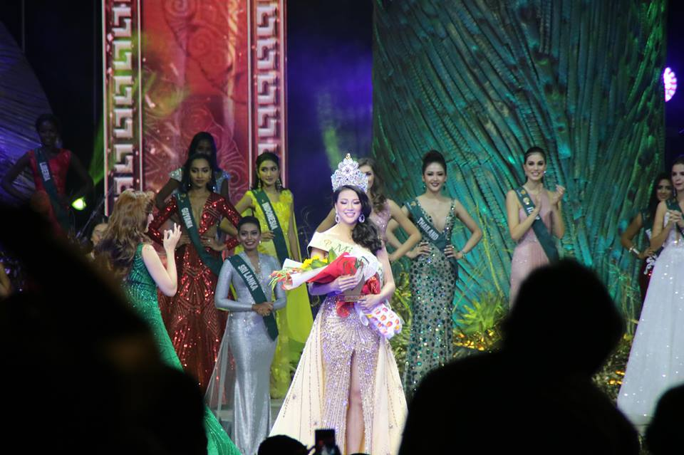 PHUONG KHANH NGUYEN of Vietnam is Miss Earth 2018