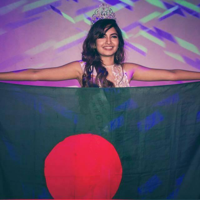 Priota Farelin Iftekhar from Bangladesh crowned as Miss Culture Worldwide 2018