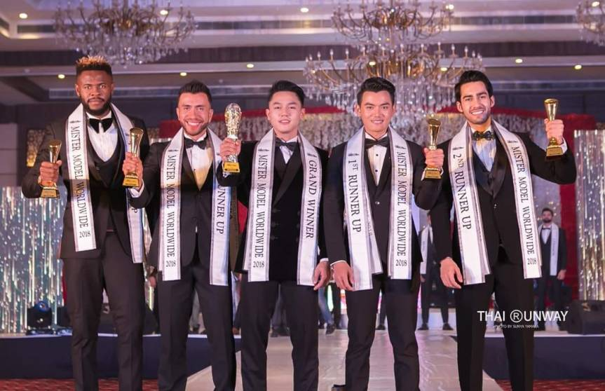 Carlo Pasion from Philippines wins Mister Model Worldwide 2018