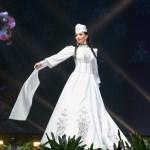 Miss Universe Armenia,Eliza Muradyan during the national costume presentation
