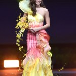 Miss Universe Australia,Francesca Hung during the national costume presentation