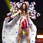 Miss Universe Czech Republic,Lea Šteflíčková during the national costume presentation
