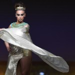 Miss Universe Egypt,Nariman Khaled during the national costume presentation