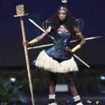 Miss Universe Ghana,Diata Hoggar during the national costume presentation