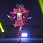 Miss Universe Guam,Athena Su McNinch during the national costume presentation