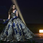 Miss Universe Honduras,Vanessa Villars during the national costume presentation