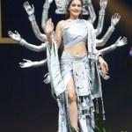 Miss Universe Nepal-Manita Devkota during the national costume presentation