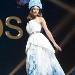 Miss Universe Netherlands,Rahima Dirkse during the national costume presentation