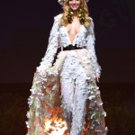 Miss Universe Poland,Magdalena Swat during the national costume presentation
