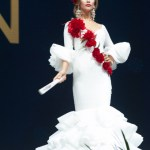 Miss Universe Spain,Angela Ponce during the national costume presentation