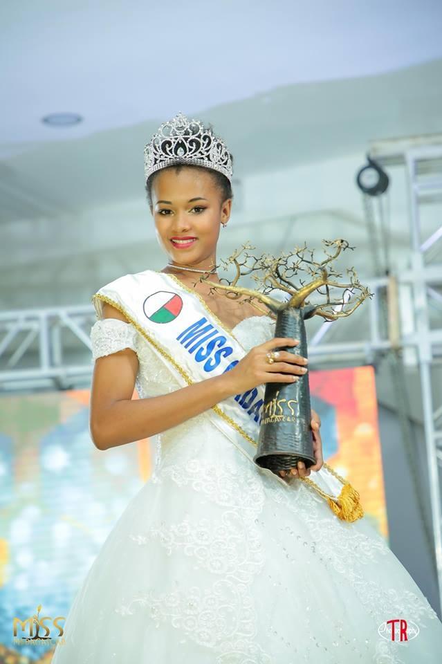 Valerie Binguira crowned as Miss Madagascar 2019