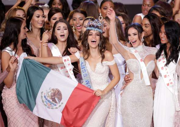 Vanessa Ponce, Miss World 2018 from Mexico