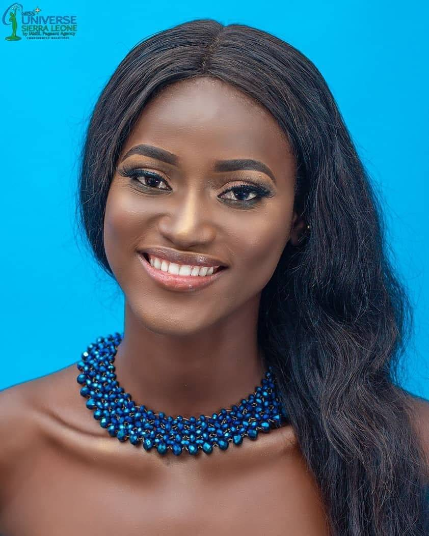 Marie Esther Bangura will represent Sierra Leone at Miss Universe 2019 pageant