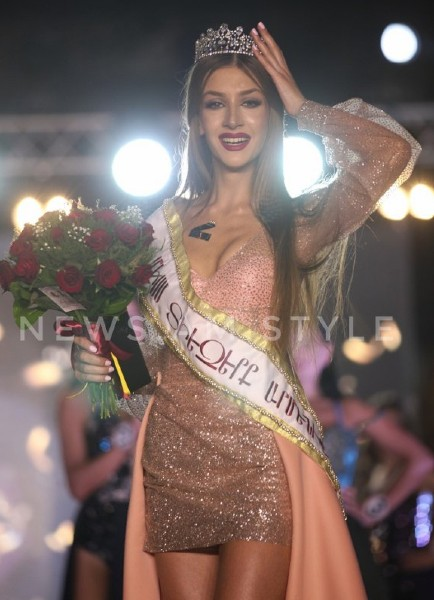 Dayana Davtyan crowned as Miss Universe Armenia 2019