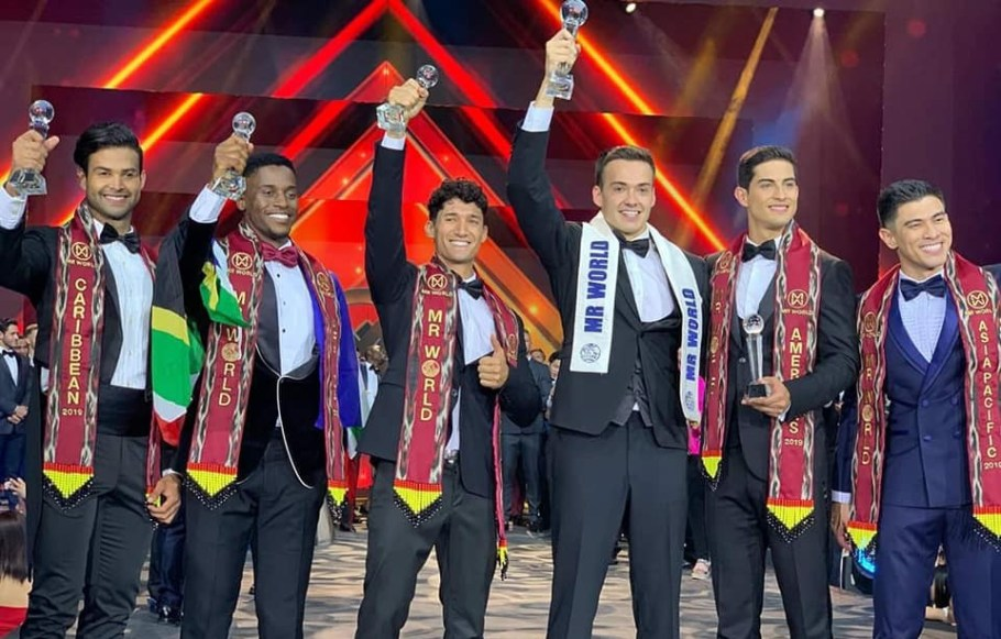Jack Anthony Heslewood from England wins Mr. World 2019