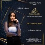 Miss Golden Heart Tejaswini Rabha