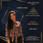 Mondsub Miss Flawless Giti Gour
