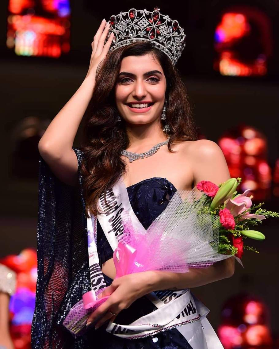 Simrithi Bathija is Miss India International 2019