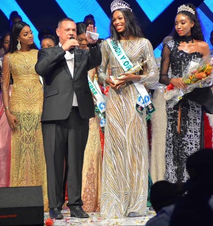 Nyekachi Douglas crowned as Most Beautiful Girl in Nigeria 2019
