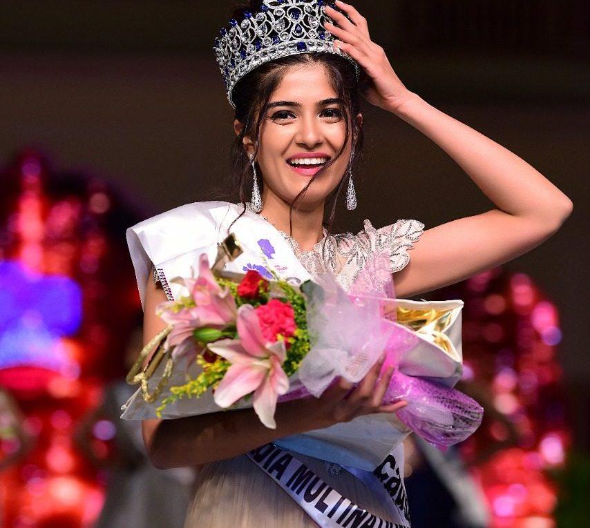 Tanvi Malhara crowned as Miss India Multinational 2019