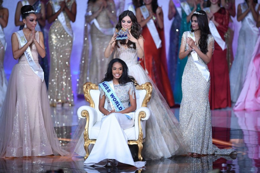 Toni Ann Singh from Jamaica crowned as Miss World 2019