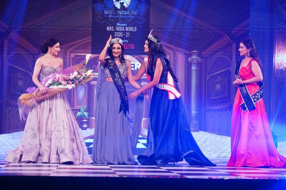 Navdeep Kaur Wins Mrs. India World 2021 Contest