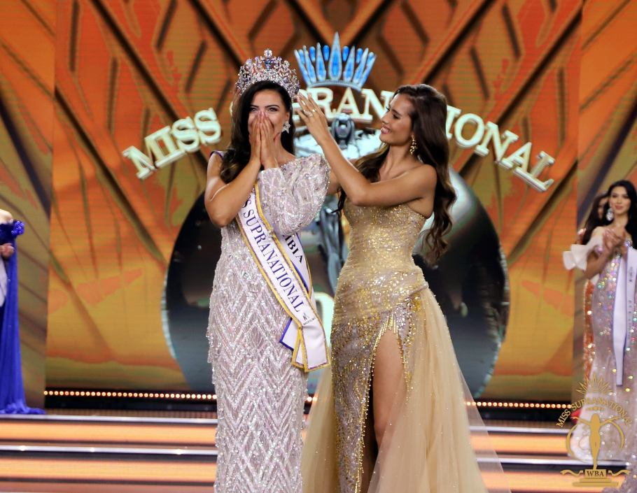 Chanique Rabe from Namibia crowned as Miss Supranational 2021