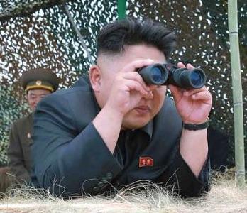 Kim Jong-un watches nuclear test