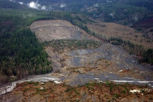 Oso landslide as a symbol of the sudden and massive collapse of the Epocalypse.