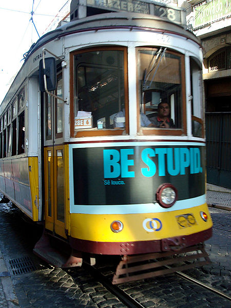 The Trumponomics Train may not be too smart. By a_marga from madrid, Spain (Be stupid) [CC BY-SA 2.0 (https://creativecommons.org/licenses/by-sa/2.0)], via Wikimedia Commons