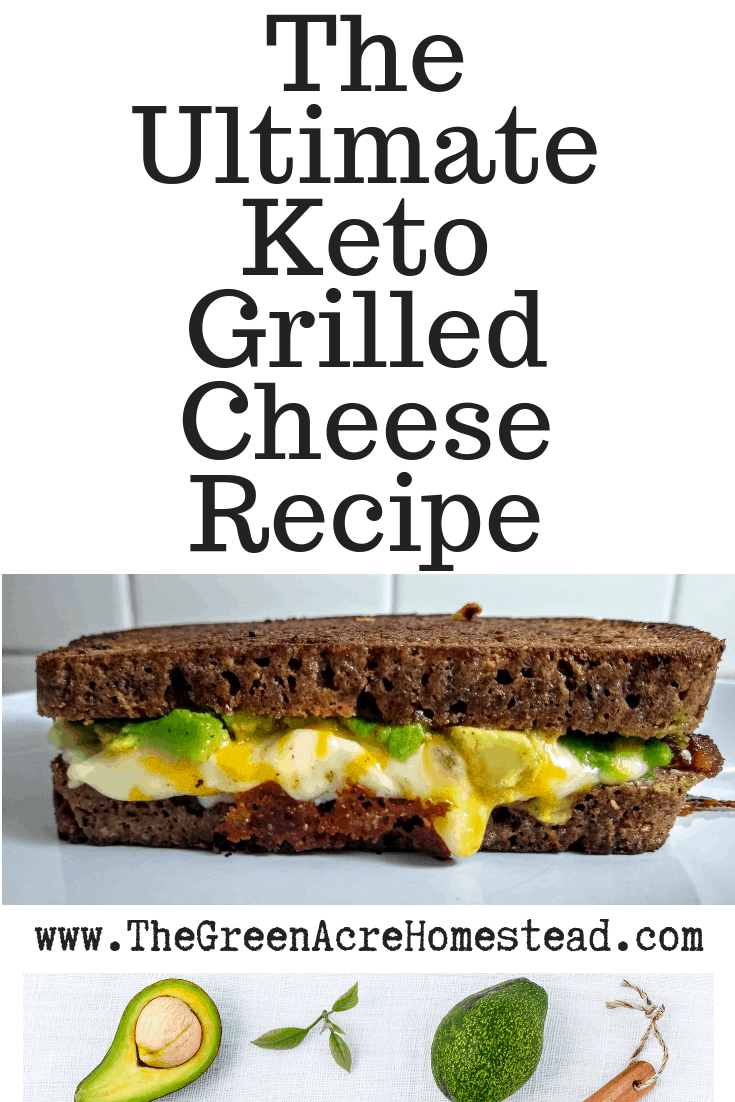 The Ultimate Keto Grilled Cheese