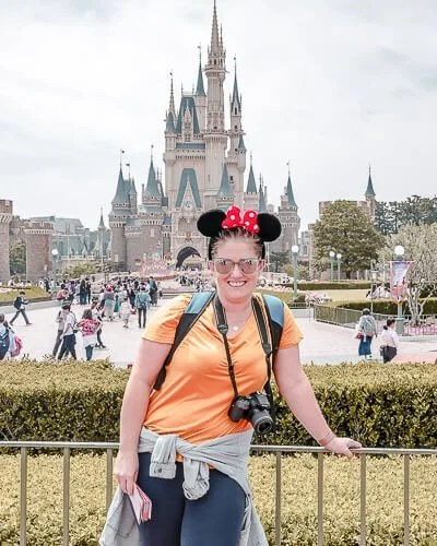 Jane at Tokyo Disney