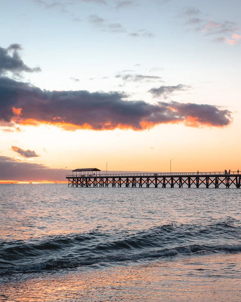Grange Jetty Sunset