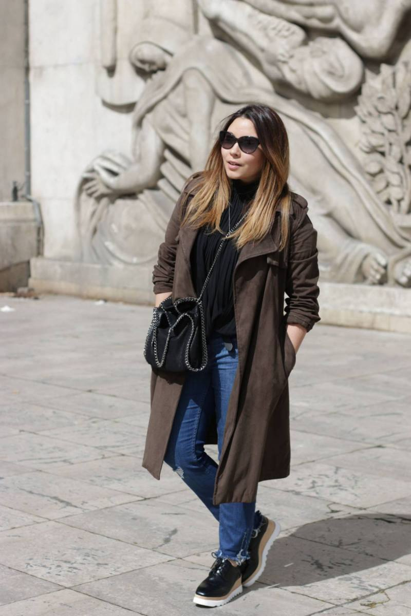 trench kaki, trench, zara, vide dressing, blogueuse mode, blogger