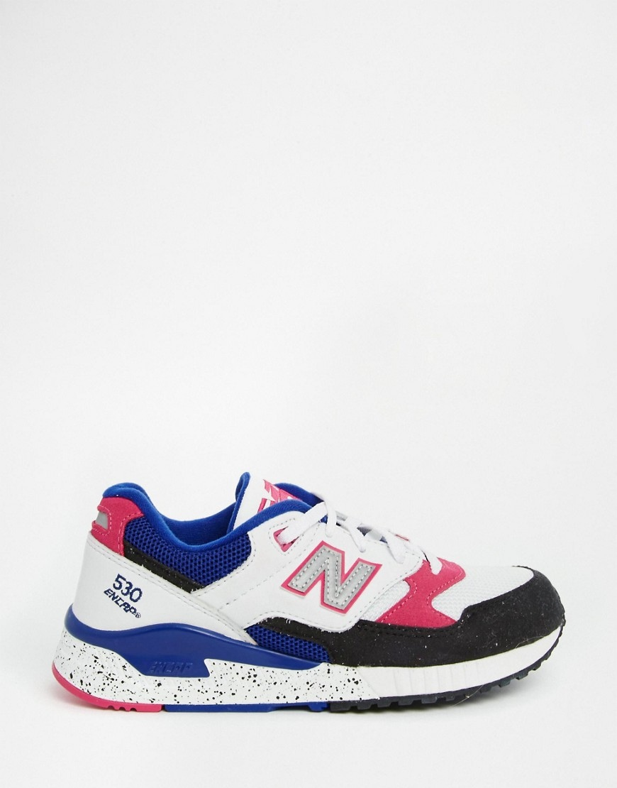 Basket New balance- the green ananas- soldes été 2016 - asos