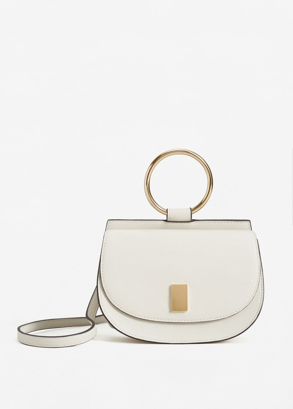 sac à main femme, sac inspi chloé, mango, sac blanc, blog mode