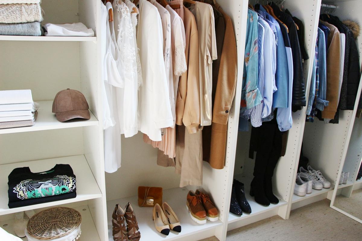 Dressing Ikea Pas Cher mon dressing pour pas cher !