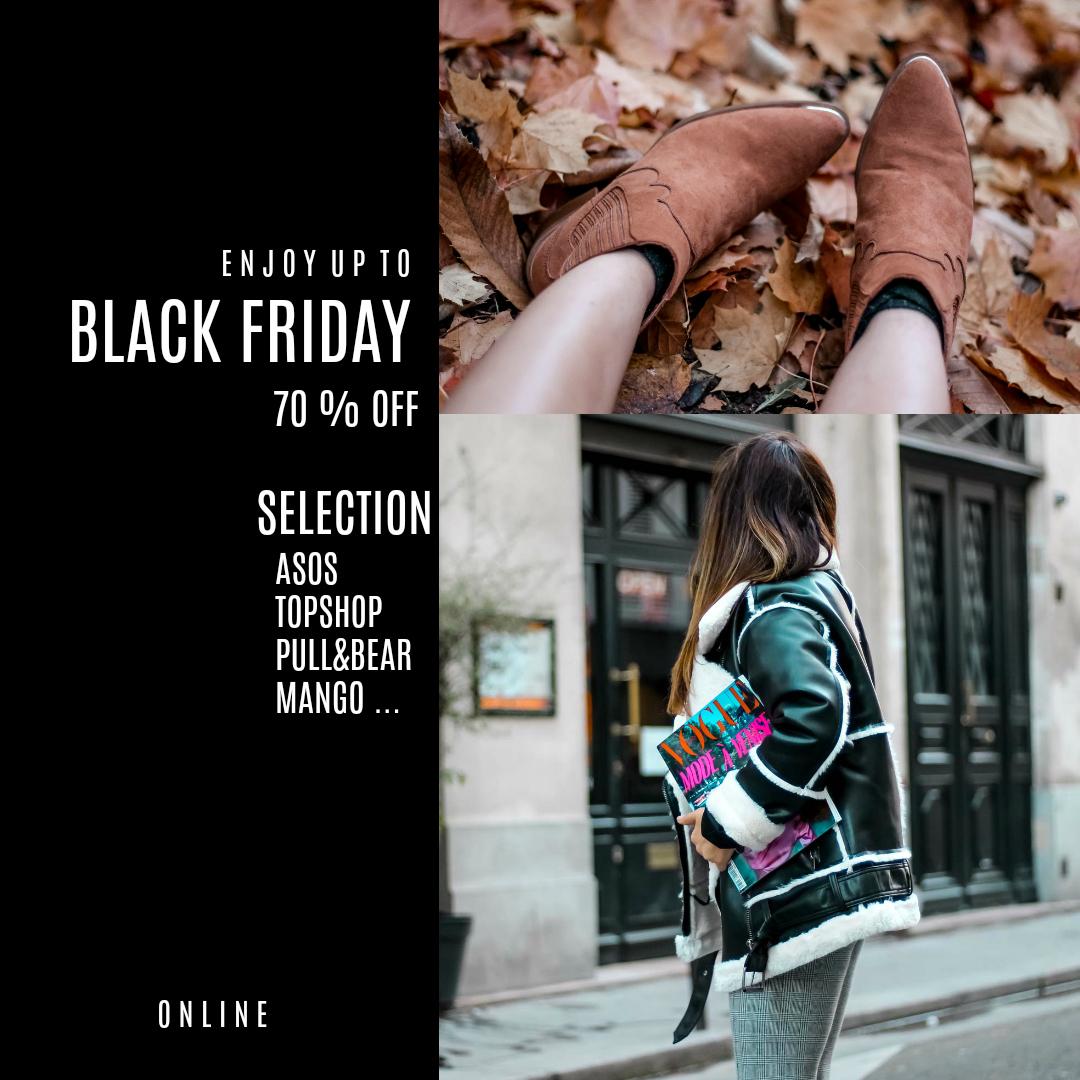 ENJOY UP TO BLACK FRIDAY 70% ! SÉLECTION ASOS, TOPSHOP, MANGO …