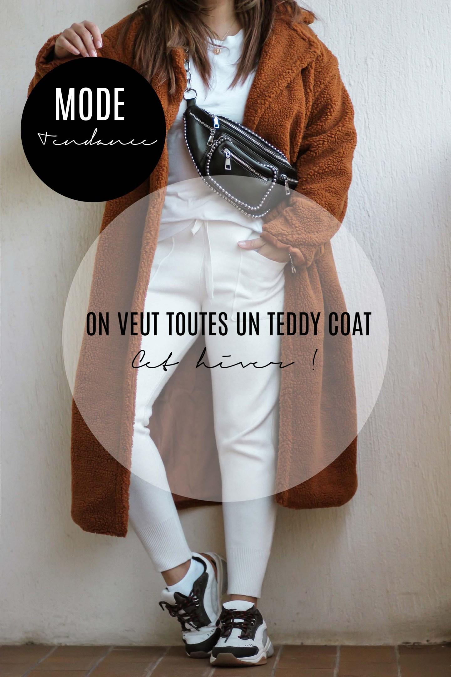 ON VEUT TOUTES UN TEDDY COAT CET HIVER !