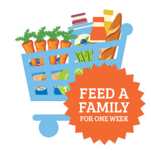 Feed a family for one week