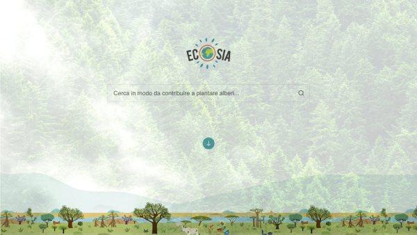 Motore di ricerca Ecosia