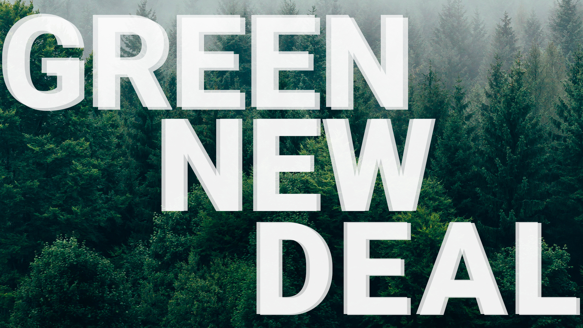 green new deal the green army