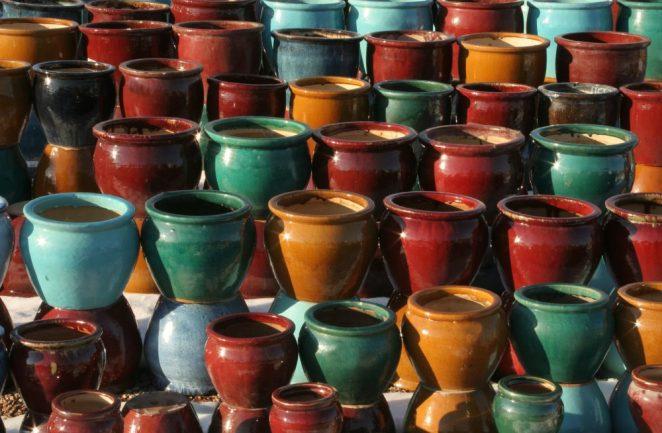best ceramic planters for garden